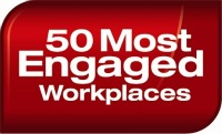 50 most engaged workplaces