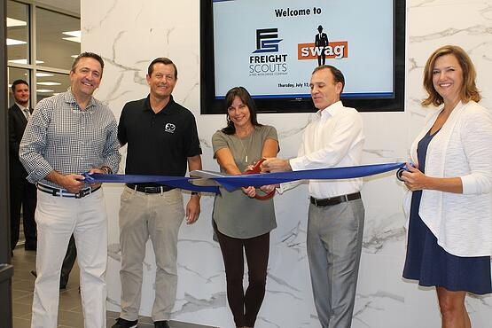 Atlanta Office Opening PBD Worldwide Freight Scouts Swag Promo