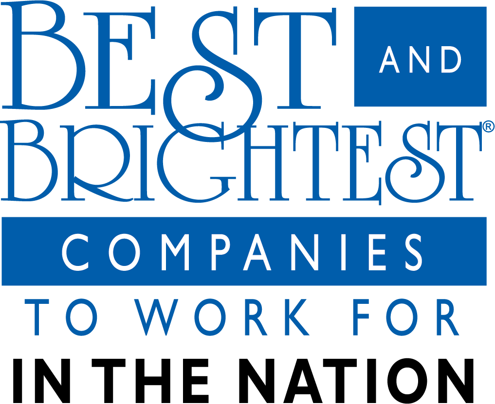 Best & Brightest Companies to Work For - Nationally PBD Blue & Black Logo