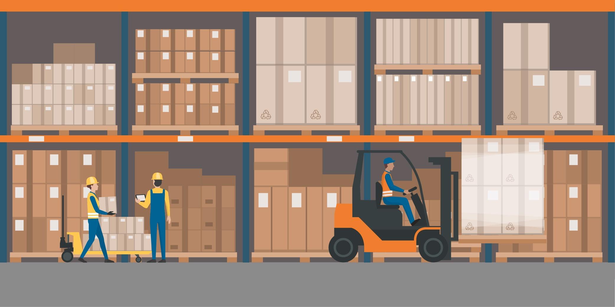 Warehouse vs Fulfillment Center PBD 3PL Logistics