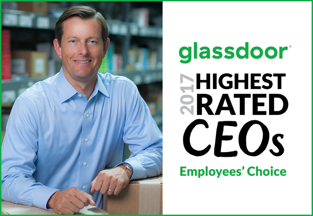 Glassdoor Names Scott Dockter a Highest Rated CEO